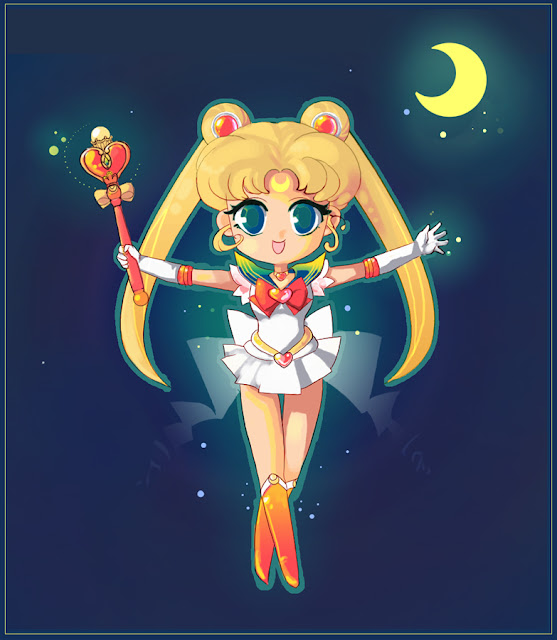 SAILOR MOON por surlaluna