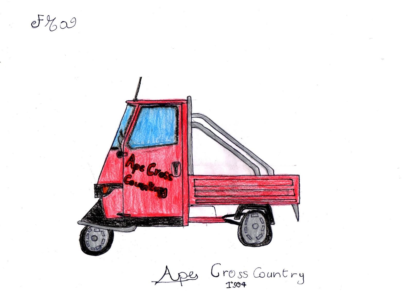 Museo Dell Ape Car Di Morbegno Scheda Tecnica Di Ape Cross Country