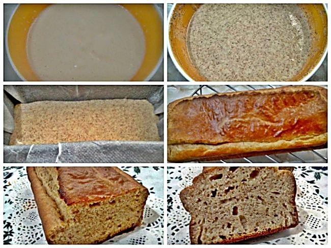Preparación del bizcocho integral de limón sin azúcar