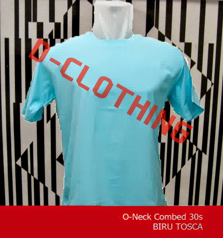 D Clothing Pusat Jual Kaos Polos Murah Mojokerto Green Misty O Neck 30s
