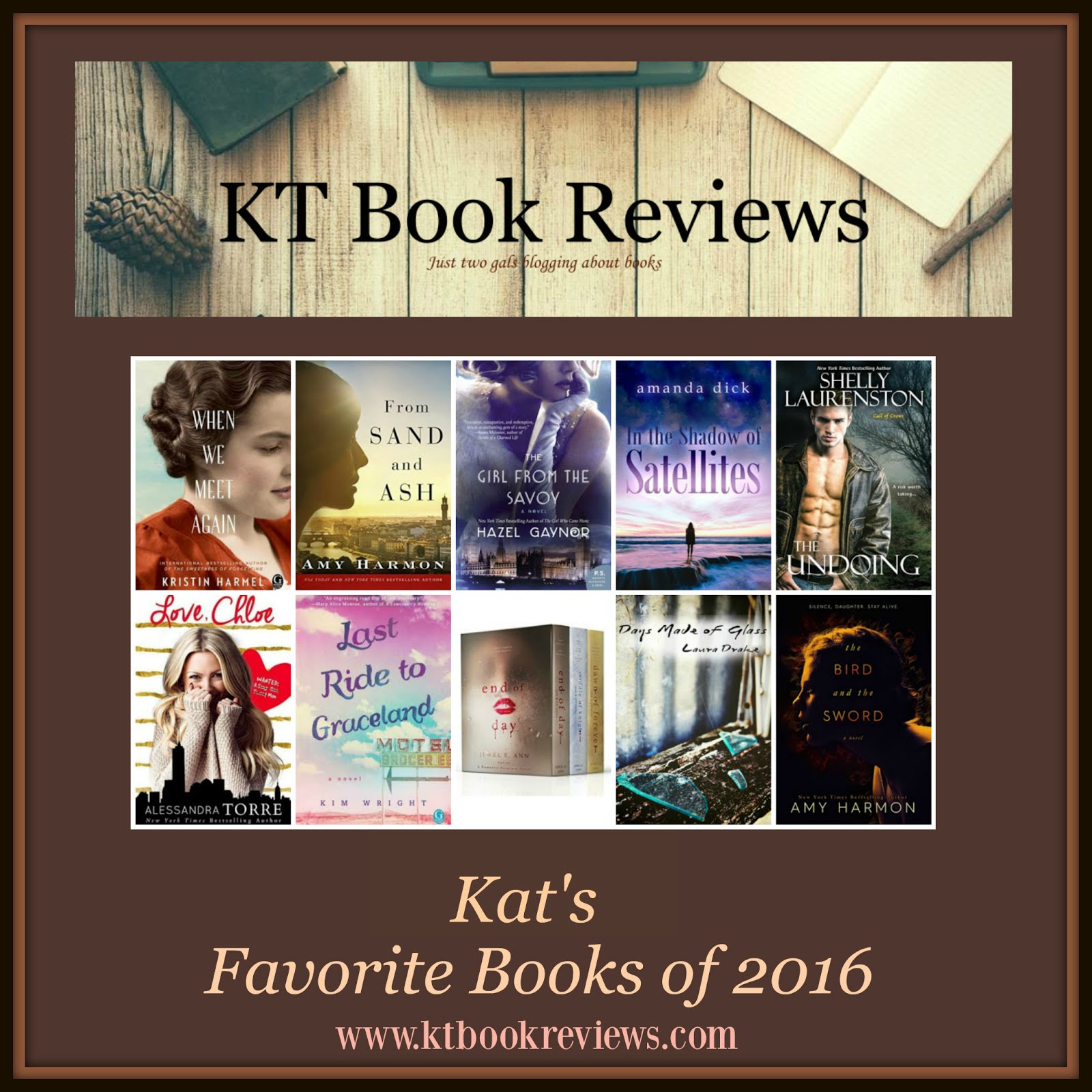 Kat's Top Reads of 2016