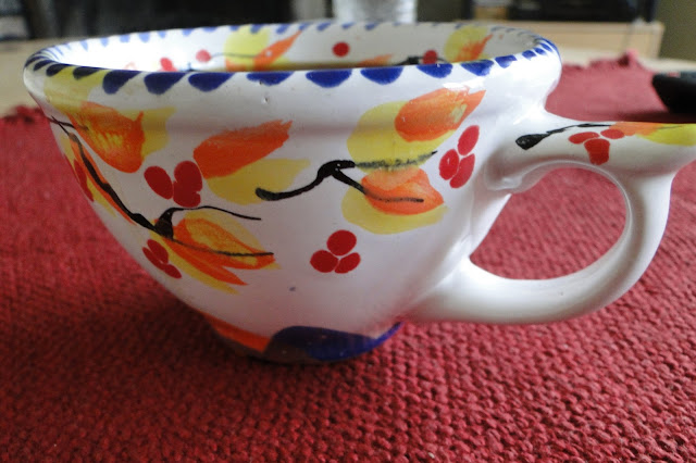 Hand-made cup by Sophia Trach, Lviv, West Ukraine