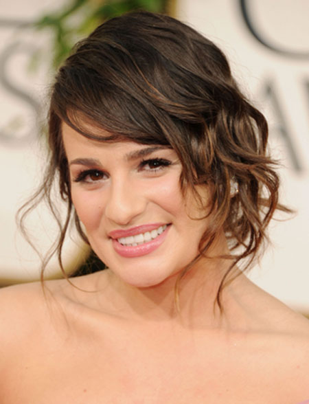 Lea Michele Sexy Summer Hairstyles