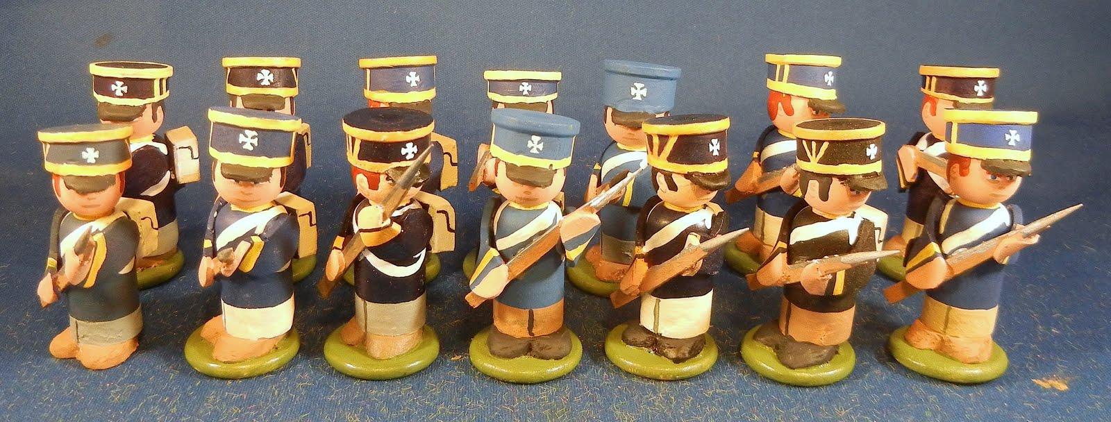 Деревянные солдаты своими руками 29