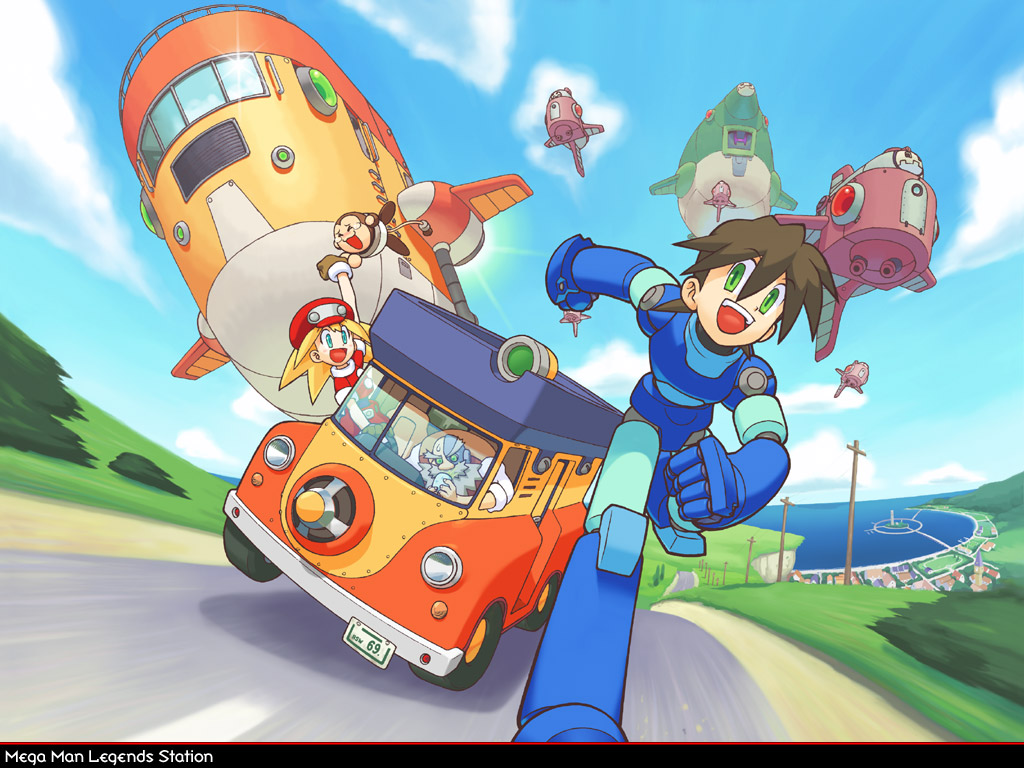 Megaman HD & Widescreen Wallpaper 0.6898357014384
