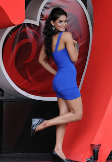 Ravi Teja Tight Blue Dress