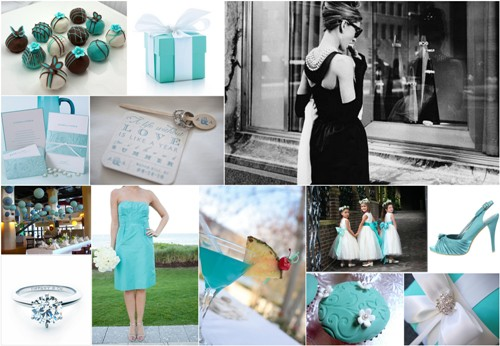 I love baby blue colour as a wedding theme colour and why not the Tiffany