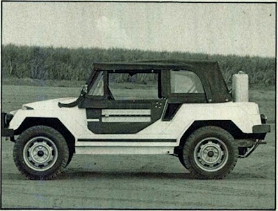 Gurgel X-12 com motor vw 1600 parecido com os Buggies da época - 1978