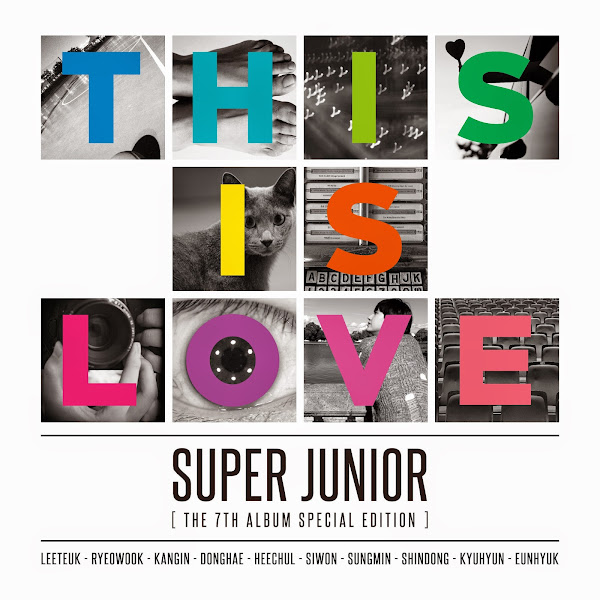 Super Junior This Is Love Cover
