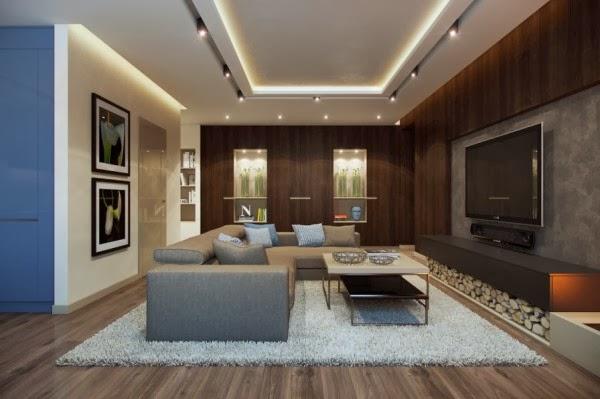 Ouvert Plan Amenagement Des Maisons Modernes