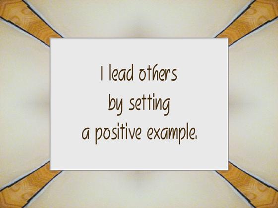 LEADERSHIP affirmation