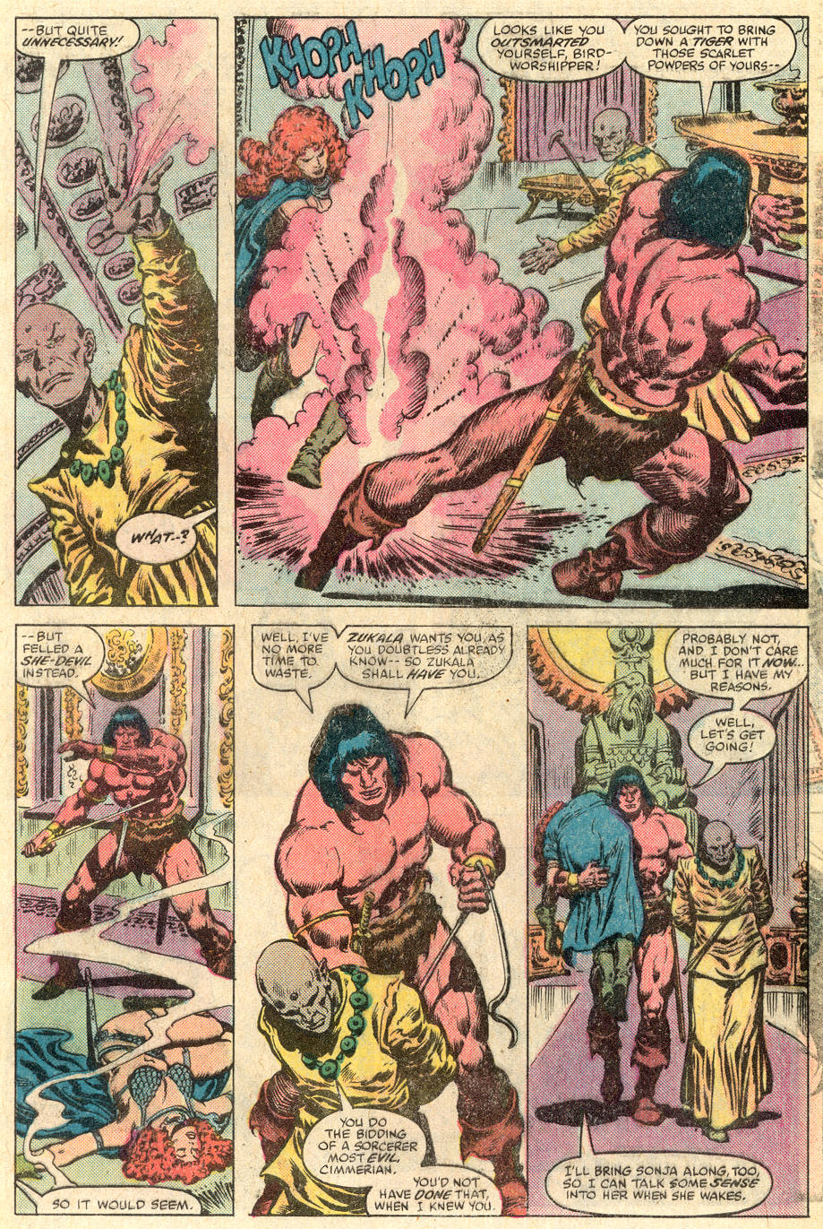 Conan the Barbarian (1970) Issue #115 #127 - English 18
