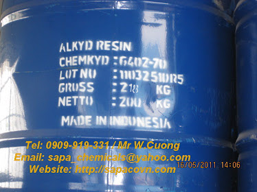 Nhựa Alkyd 6402-70 / short oil