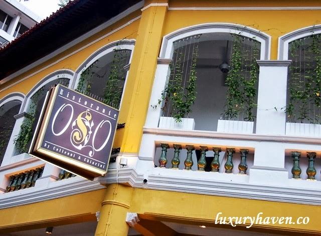 oso ristorante bukit pasoh singapore
