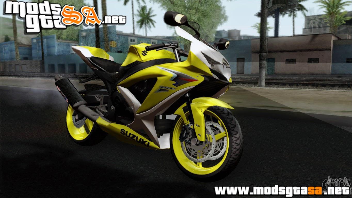SA - Suzuki GSX-R 2015 Yellow e White