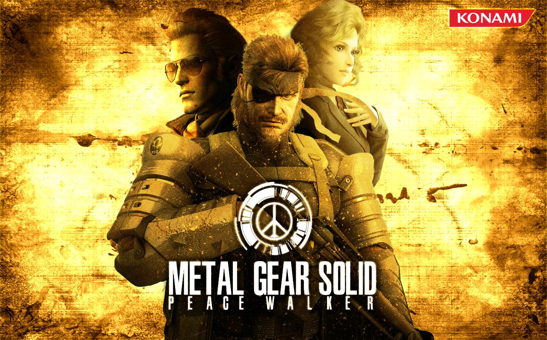 Metal Gear Solid. Peace Walker