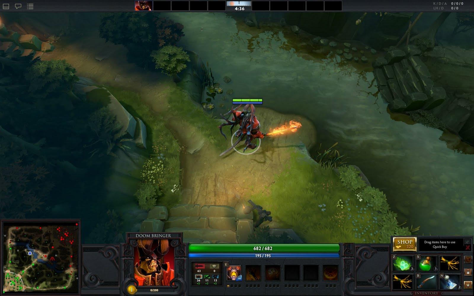 Dota 2 gameplay screenshots and heroes list
