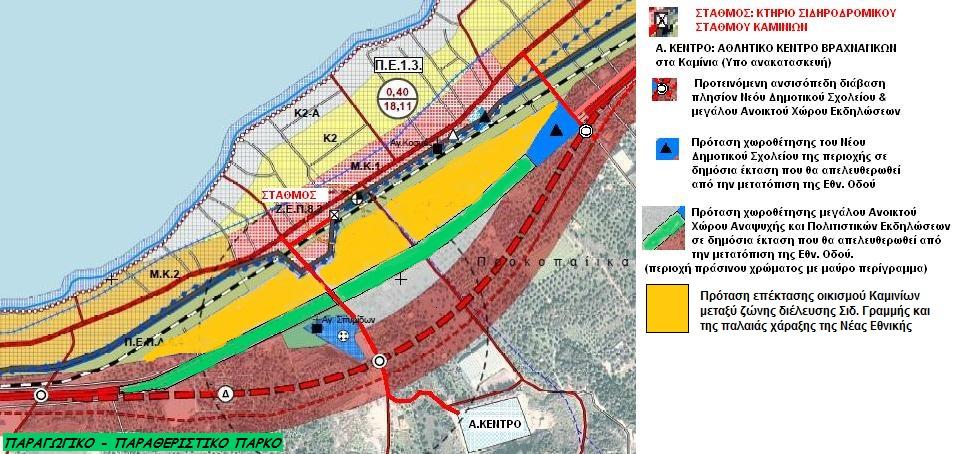 ΣΗΜΑΝΤΙΚΟ: Προτάσεις για το Β1 στάδιο της μελέτης«Γενικό Πολεοδομικό Σχέδιο(Γ.Π.Σ.) Βραχναιίκων