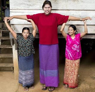 World's Tallest Teen Girl