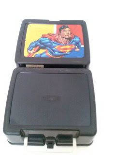 Vintage Thermos Superman lunch box