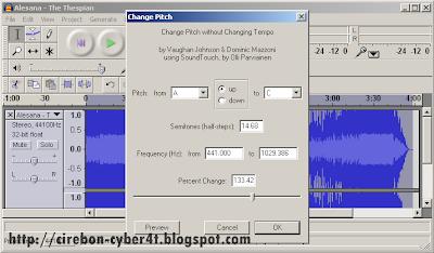 Cara Membuat Suara/Efek Chipmunk Pada Mp3