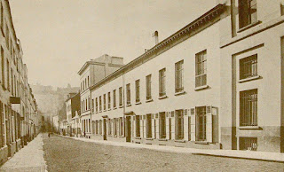 The Pensionnat Heger in Brussels, where Charlotte and Emily Brontë stayed in the 1840s