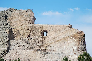 Crazy Horse Memorial (South Dakota, Amerika Serikat)