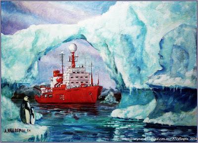 Oleo Bio Hesperides investigacion antartica