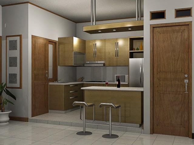 Desain Dapur Rumah Bernuansa Alam