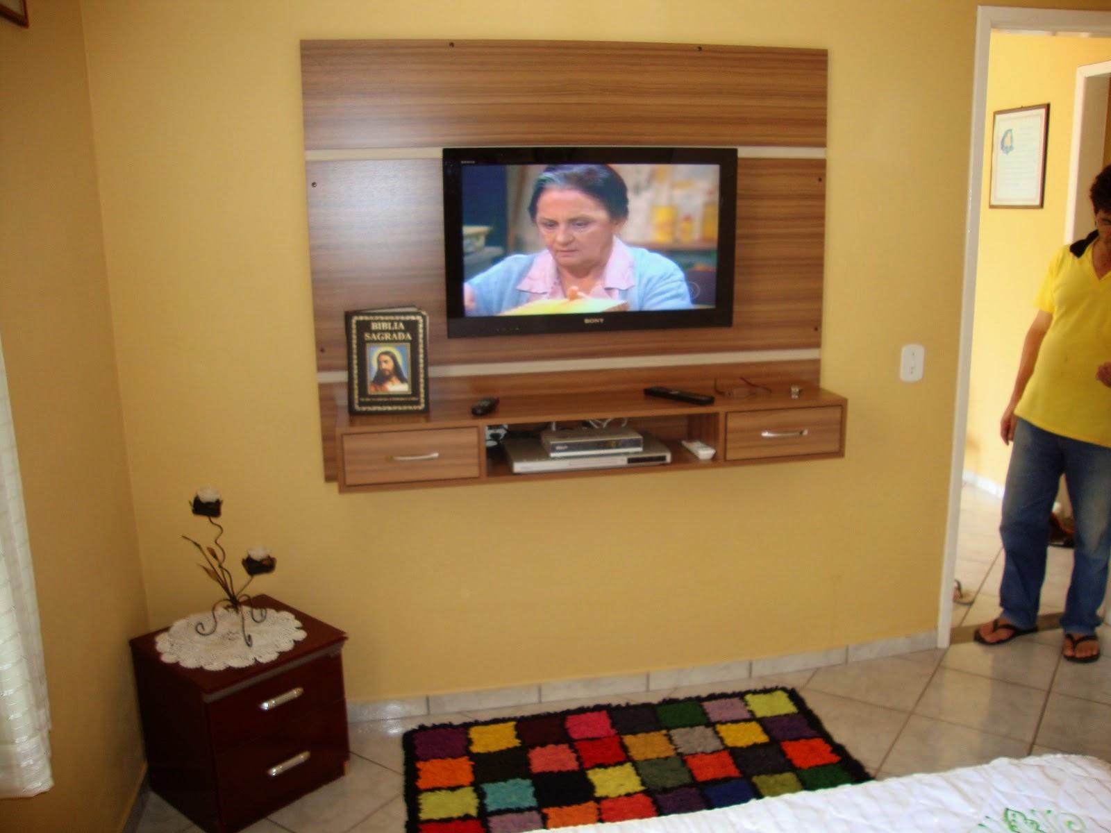 Rack E Painel Para Tv Led Plasma E Lcd Fa A Sua Sala Planejada  ~ Painel De Tv Para Quarto Planejado
