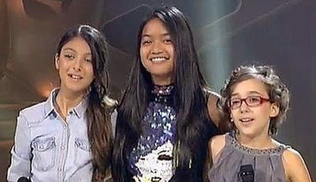Iraila, Mariz y Salma La Voz Kids: Set Fire to the Rain, Batallas