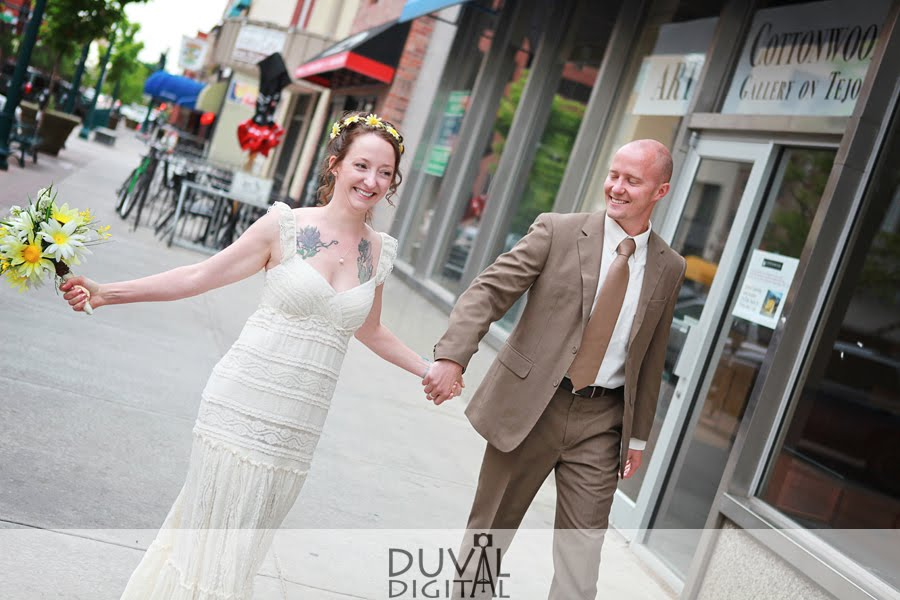 Fun Bride & Groom Formal | Phantom Canyon Wedding | Colorado Springs, CO