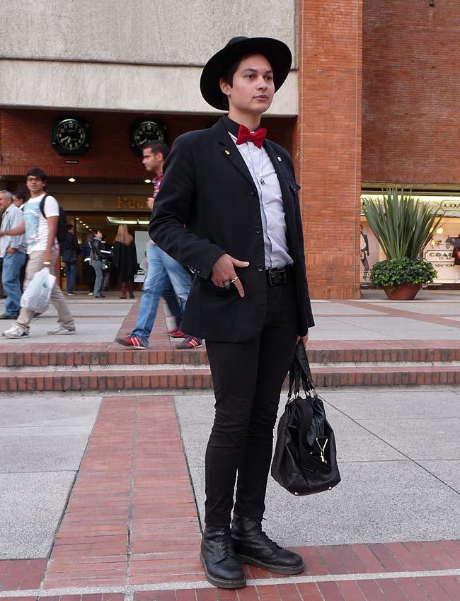 street style - como una aparición - men - fashion - moda - bogotá
