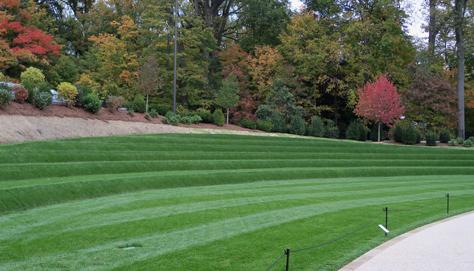Kim wilkie 39 s terraced landform in longwood gardens for Terrace landform