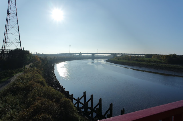 Dog Walk -Teesside - River Tees - Tees Barrage