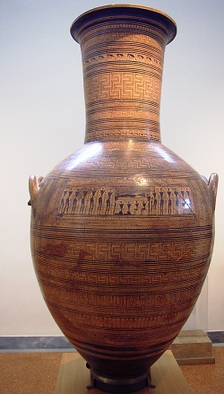 Arte semplice e poi la rinascita dell 39 arte greca e il for Vaso greco antico
