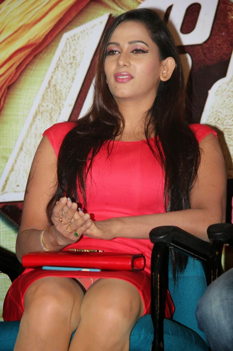 Actress Sanjana Singh Latest Cute Hot Pink Mini Skirt Dress Spicy ...