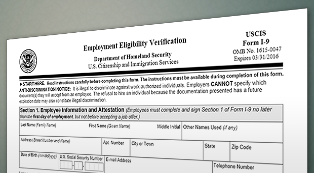 Employment News You Can Use Verification Of Employment Eligibility
