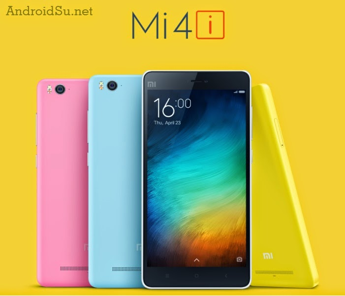 Official Xiaomi Mi 4i 5-inch Full HD, Snapdragon 615 hanya $200