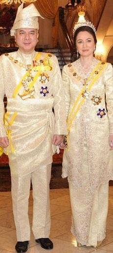 Timbalan Yang Di-Pertuan Agong : Sultan dan Raja Permaisuri Perak Darul Ridzuan.