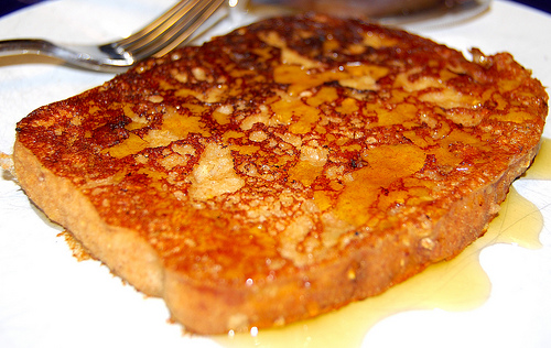 Vegan French Toast, eggless and dairy-free