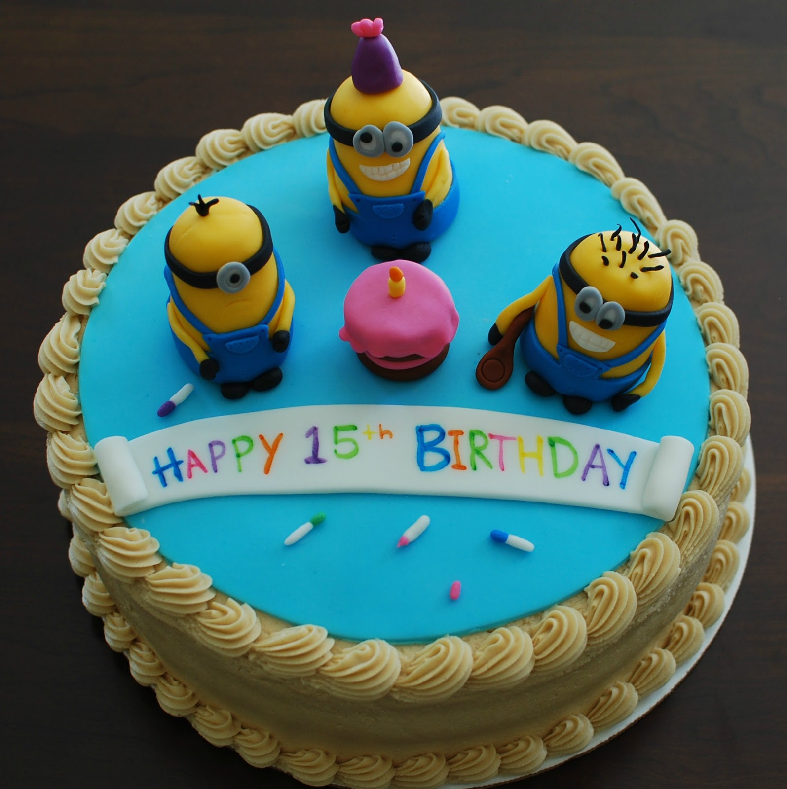Despicable Me 2 Minions Party Cake Topper 8 candles Decoration Holder See more like this Despicable Me Minions Edible Birthday Cake Image Topper Frosting Icing 1/4 Sheet Brand New.