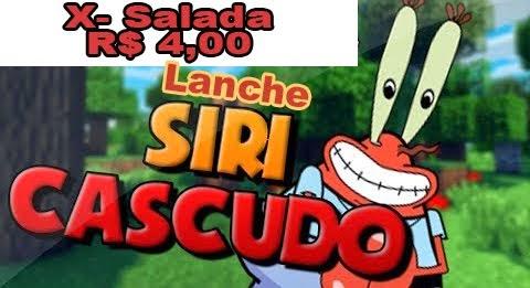 LANCHE SIRI CASCUDO.