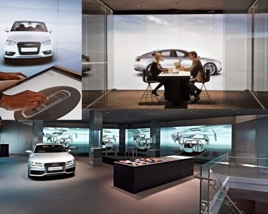 Audi crea concesionario virtual con Kinect