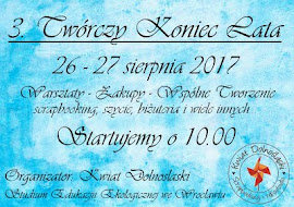 TWÓRCZY KONIEC LATA