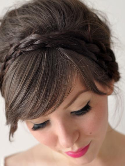 How to Do Simple Braided Updo Hairstyles For Summer Long Hair ...