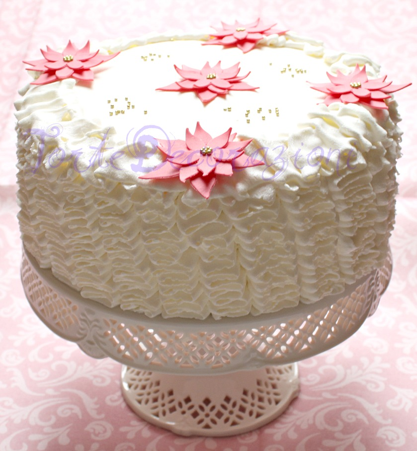 Torte e decorazioni la torta di natale - Decorazioni torte con glassa ...