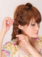 Cara Mengikat Rambut Pendek Sebahu Praktis