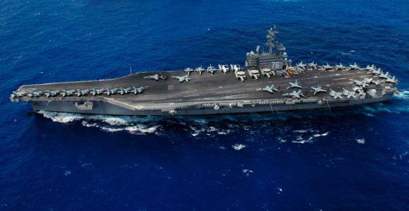 Kapal induk kelas Nimitz Angkatan Laut AS