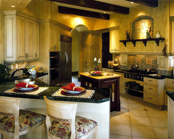 Charmant Tuscan Kitchen Design | Tuscan Kitchen Design Ideas